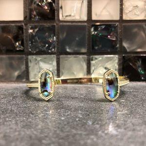 Kendra Scott Edie gold cuff bracelet